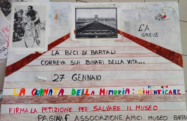 GIORNO DELLA MEMORIA AL MUSEO DEL CICLISMO GINO BARTALI