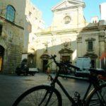 in-bicicletta-Bartali-in-piazza-Santa-Trinita-150x150