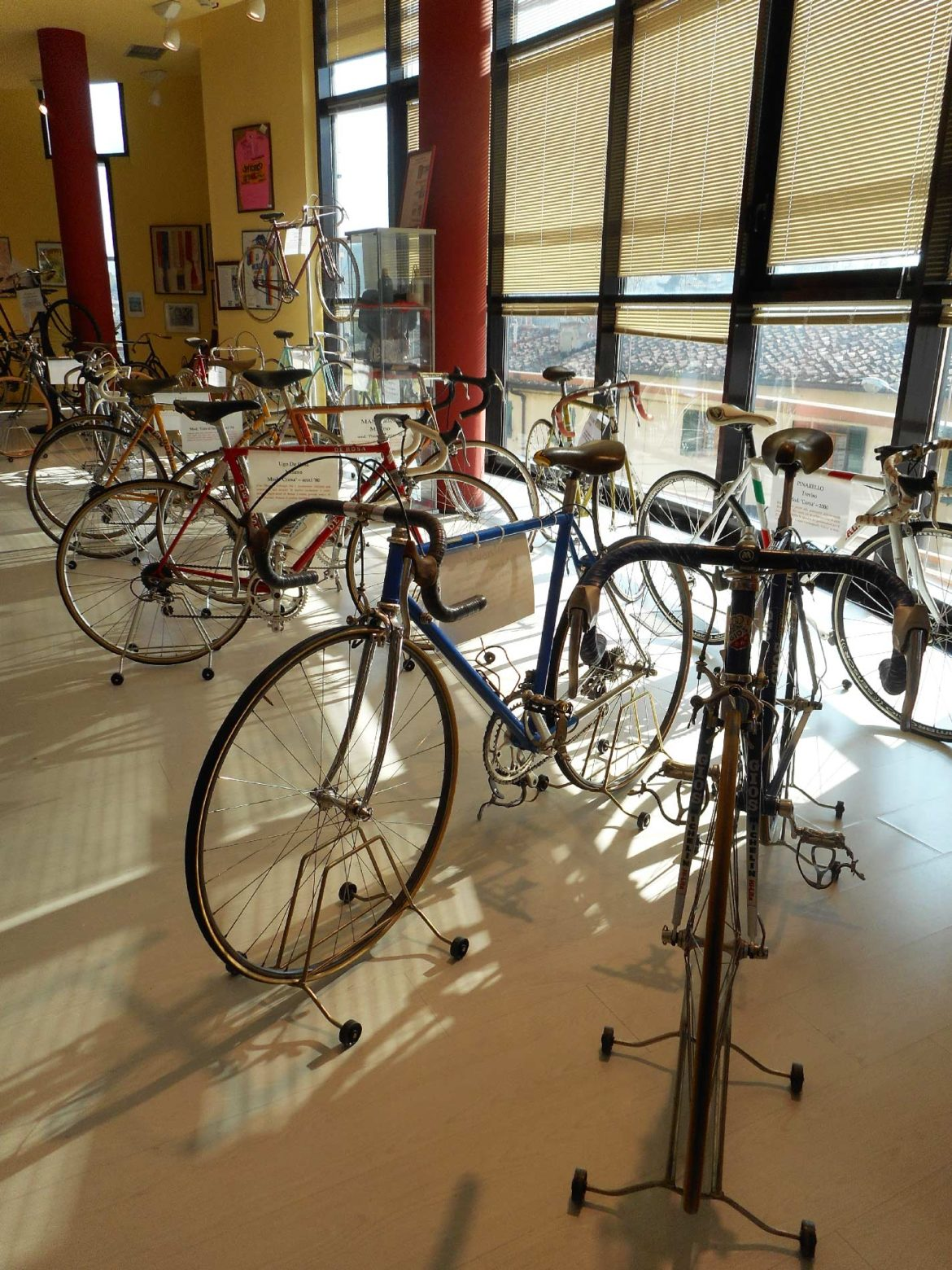MEETINGS OF SPORT AND HISTORY AT THE GINO BARTALI CYCLING MUSEUM