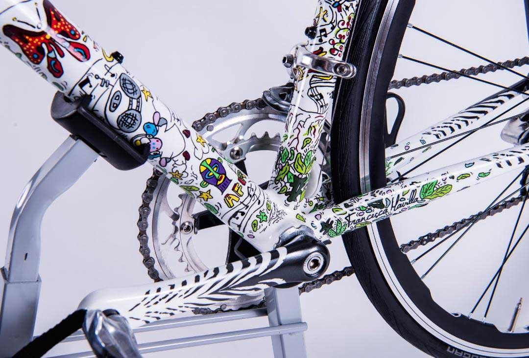 ARTECICLO: WHEN THE BICYCLE HAS A MULTICOLOUR SOUL