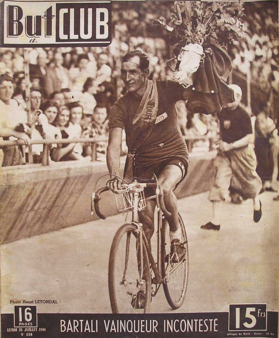 TOUR DE FRANCE 1948: 70 YEARS FROM THE SPORTING CHALLENGE THAT SAVED ITALY