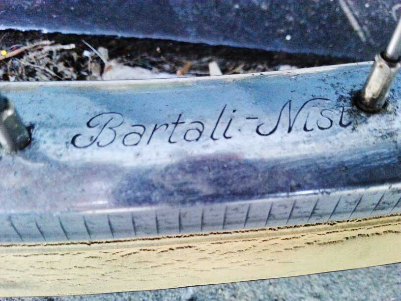 LADY BARTALI: RESTAURO DELLA MIA BICICLETTA VINTAGE ANNI '50